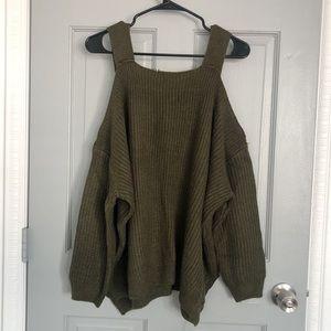 F21 | Open Shoulder Sweater